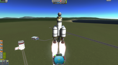 simple rocket kerbal space program - photo #44