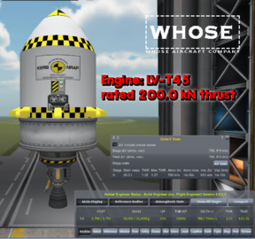 Thrust-to-weight ratio - Kerbal Space Program Wiki
